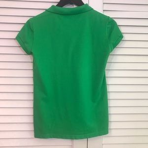 Lacoste Tops - Lacoste green polo EU 40 US 8 like new!